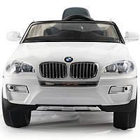 Детский электромобиль BMW X6 (белый)