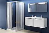 Душові двері RAVAK ASRV3-80 білий+transparent/grape, фото 2