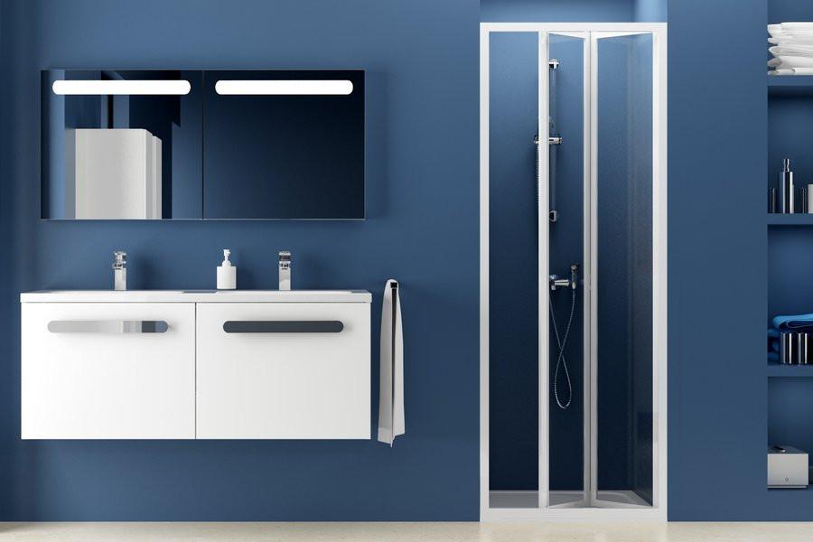 Душові двері RAVAK SDZ2-70 білий+pearl 01V1010011