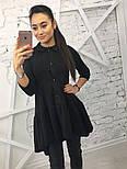 Женская стильная туника с рюшами (3 цвета), фото 2