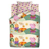Комплект постельного белья Peppa Pig Осенний фестиваль