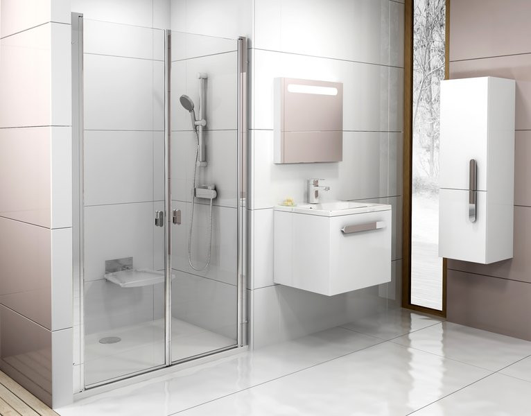 Душові двері RAVAK CSDL2-100 white+Transparent