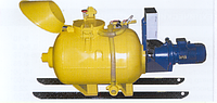 Пневмонагнетатель СО-241Т на шасси/салазки (Торкрет установка ТП-300)