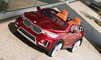 Детский электромобиль BMW X7 (M 2768) EBLRS-3, автопокраска, ЕВА колеса, кожаное сидение, бордо