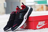 Кроссовки Nike Air Presto темно синие с красным 1739