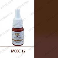 Краска для перманентного макияжа Brows colors Inkstinkt 5мл. МС #12 Мокко
