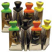 Терка Maestro (высота 21 см) оранжевая, желтая, черная, салатовая