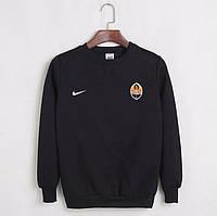 Футбольный свитшот (кофта) Шахтер-Найк, Shakhter-Nike, черный, ф4554
