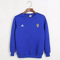 Футбольный свитшот (кофта) Ювентус-Адидас, Juventus-Adidas, синий, ф4556