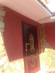 Уличные двери с ковкой и винорит покрытием 16