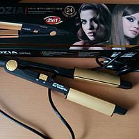 Утюжок для выпрямления и завивки волос 2 в 1 Rozia HR-705