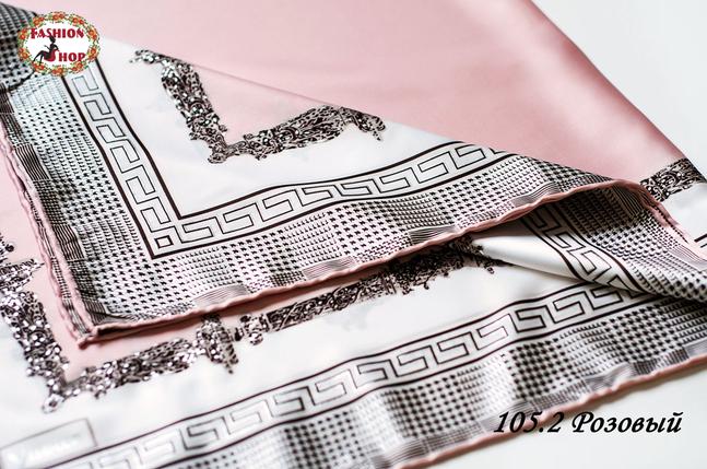 Жіночий рожевий хустку Гюльчатай, фото 2