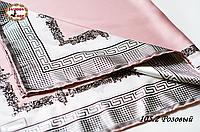 Женский розовый платок Гюльчатай
