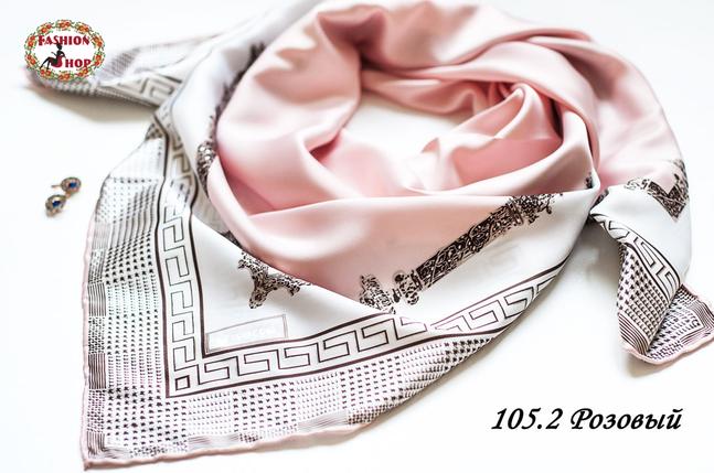Женский розовый платок Гюльчатай, фото 2