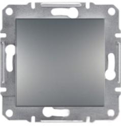 Schneider Asfora Plus Механизм переключателя 1-клавишный перекрестный сталь