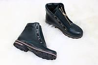 Весенние кожанные ботинки в стиле Balmain, 36-40 р