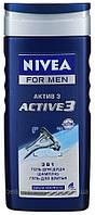 Nivea men гель для душа 3 в 1 Актив 250 мл