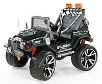 Детский электромобиль внедорожник PEG-PEREGO Gaucho Superpower 24V черный