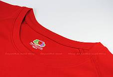 Мужская Спортивная Футболка Fruit of the loom Красный 61-390-40 S, фото 3