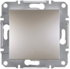 Schneider Asfora Plus Механизм переключателя 1-клавишный перекрестный бронза