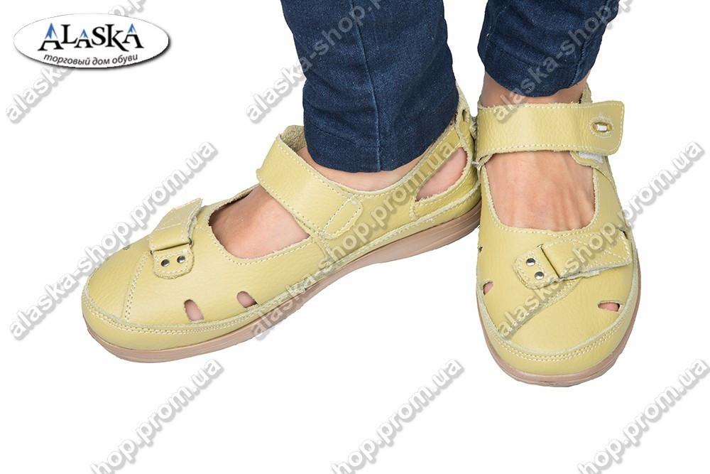 Женские туфли оливковые (Код: 2-2А)