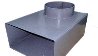 Переходник для дымохода Мартен (130 -150 мм), фото 1