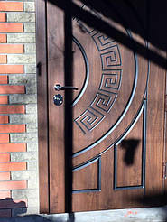 Уличные двери с ковкой и винорит покрытием 19