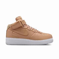 Мужские кроссовки NikeLab Air Force 1 Mid Vachetta Tan/White