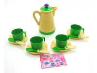 """Детский игрушечный набор посуды """"чайный сервиз"""""""