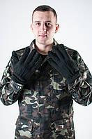 Камуфляжные флисовые перчатки