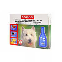 Капли Beaphar Caniguard Spot On от блох и клещей для собак средних пород и щенков №1