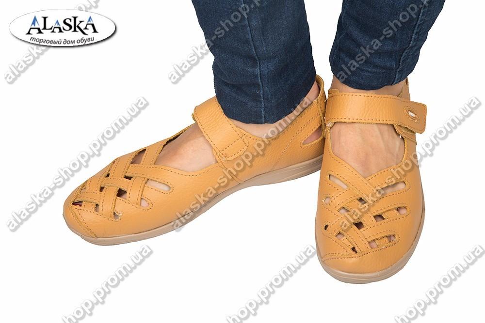 Женские туфли коричневые (Код: 2-3А)