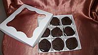 Коробка для пирожного, макаронс, конфет.