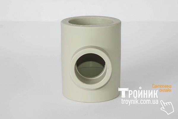 Тройник переходный ппр 110*75*110 Tebo серый