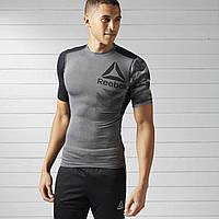 Компрессионная футболка Рибок мужская ACTIVCHILL BK3933 - 2017