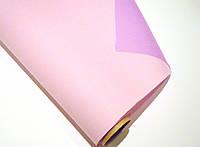 Розовая бумага для упаковки подарков, двусторонняя