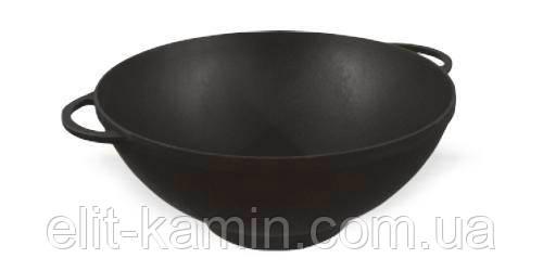 Сковорода чугунная WOK (d=300 мм, h=90мм)