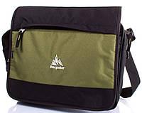 Мужская зеленая спортивная сумка на плечо ONEPOLAR(ВАНПОЛАР) W5004-green