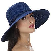 Пляжная шляпа Del Mare с морским узлом синяя