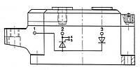 SKKH323/16 E Диодно-тиристорный модуль Semikron Semipack™