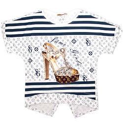 Стильная футболка для девочки-подростка