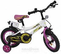 "Велосипед детский Babyhit Eagle 16"" White/Pink"