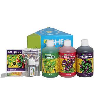Комплект удобрений GHE Tripack Flora Series HW