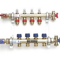 Коллектор Rehau на 6 контуров HKV-D 6 с расходомерами