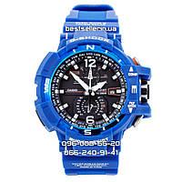 Часы водонепроницаемые Casio G-Shock GW-A1100 blue AAA