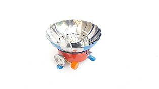 Плита портативная с лепестками от ветра Vita