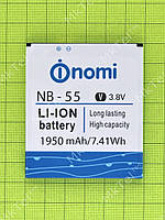 Аккумулятор NB-55 1950mAh Nomi i505 Jet Оригинал