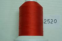 Нить №60 (1000 м.) «Титан» колір 2520 червоний