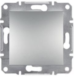 Schneider Asfora Plus Механизм кнопка алюминий
