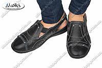 Женские туфли черные (Код: 2-7А)